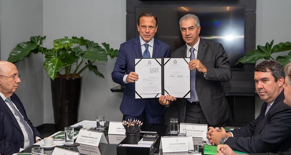 SP e MS selam parcerias para transportes