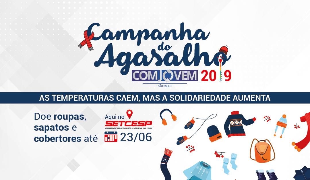 COMJOVEM inicia arrecadação para a Campanha do Agasalho 2019