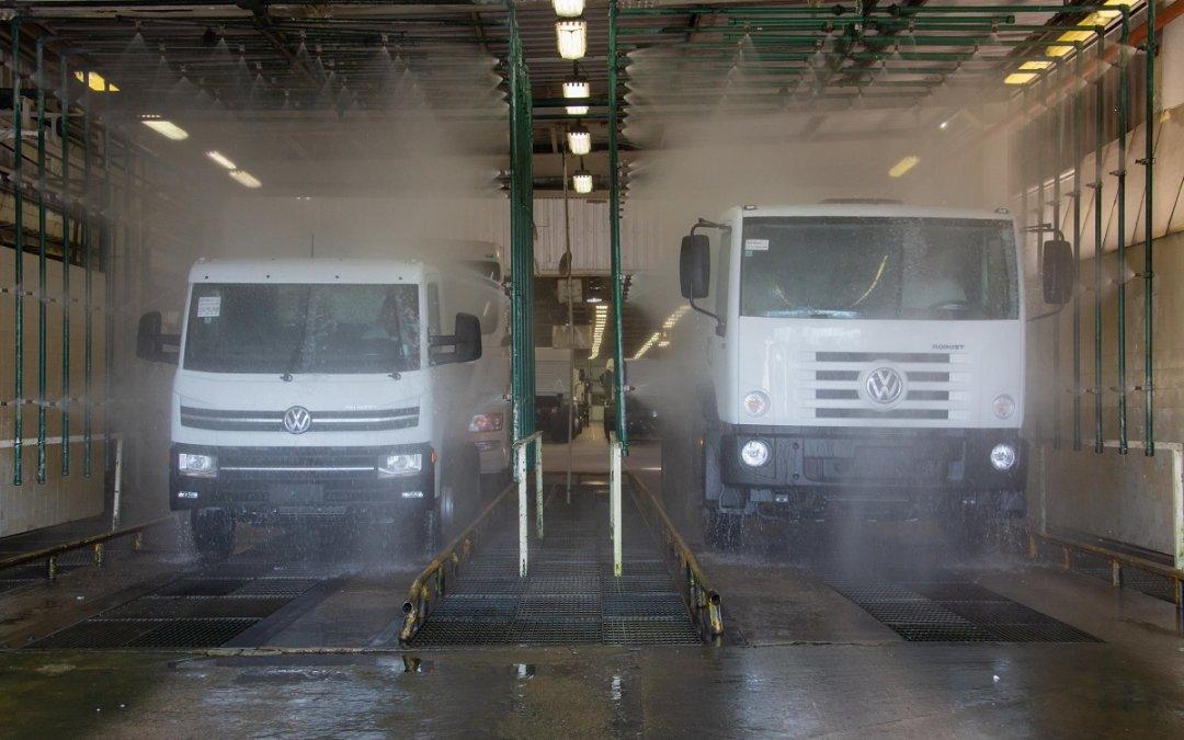 Fábrica da Volkswagen Caminhões e Ônibus reduz 70% das emissões de CO2 em sua produção