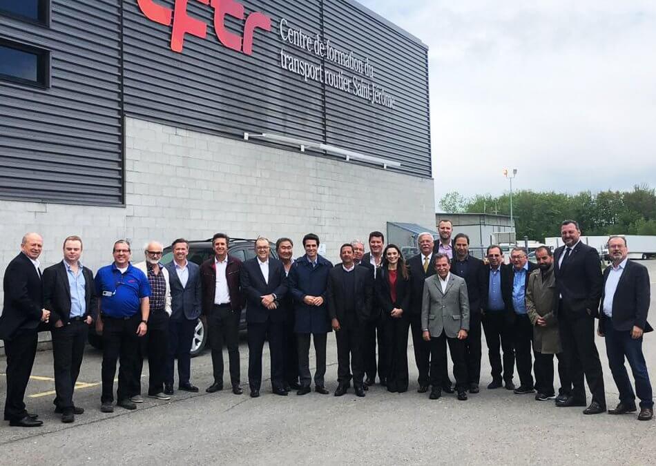 Equipe do SETCESP viaja para buscar novos modelos de mobilidade no Canadá