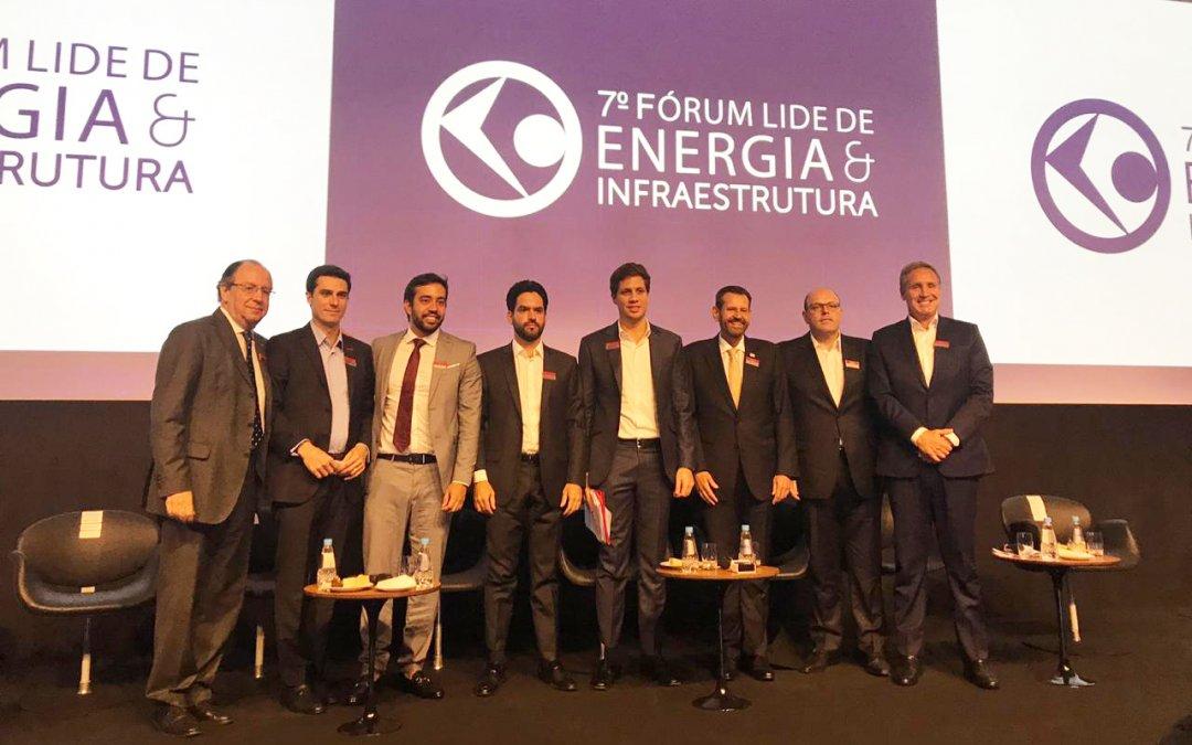 Tayguara Helou participa de debate no 7º Fórum de Energia e Infraestrutura