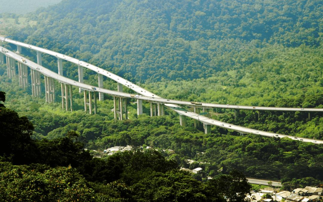 Ponte Santos-Guarujá terá pedágio e visa atender tráfego entre estradas, diz Ecovias
