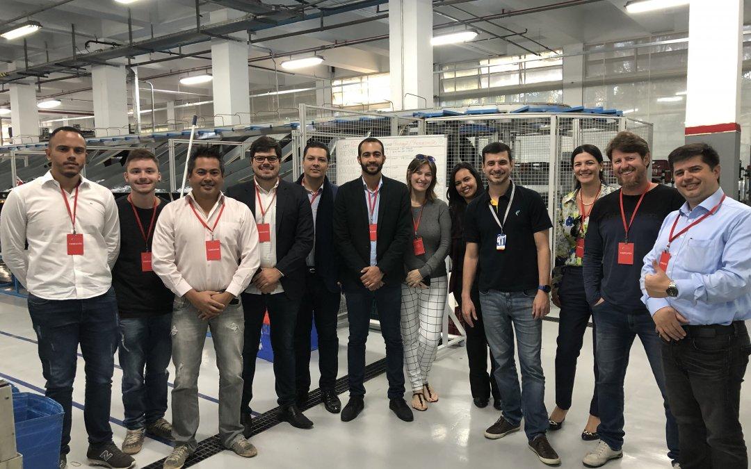 COMJOVEM SP realiza visita técnica na empresa de entregas Flash Courier