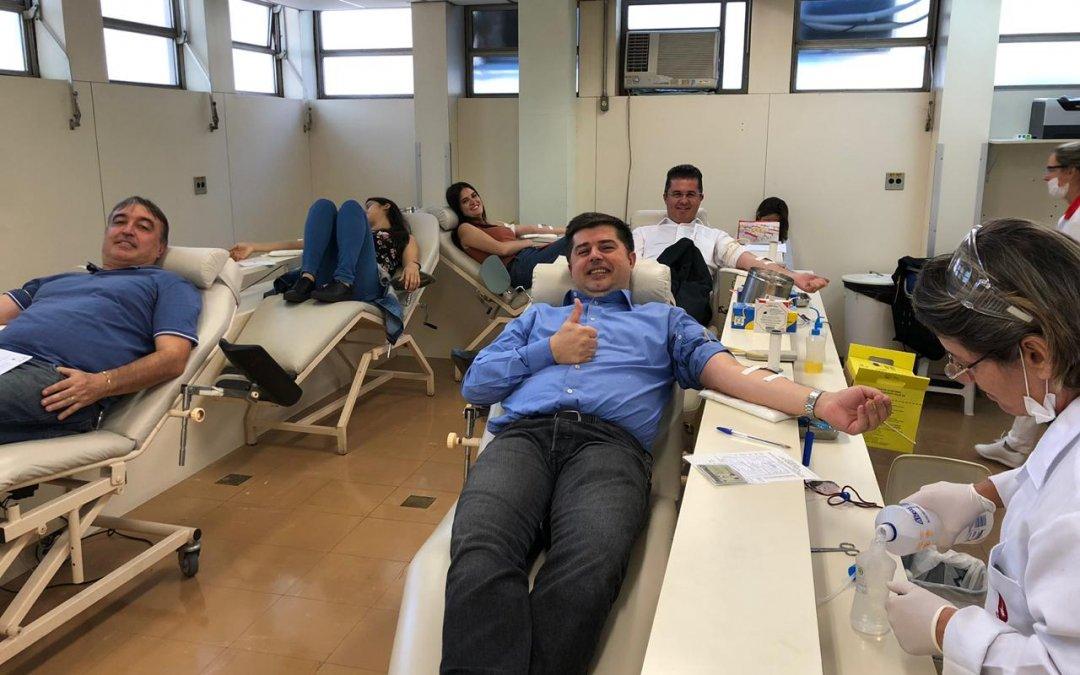 COMJOVEM-SP realiza campanha de Doação de Sangue
