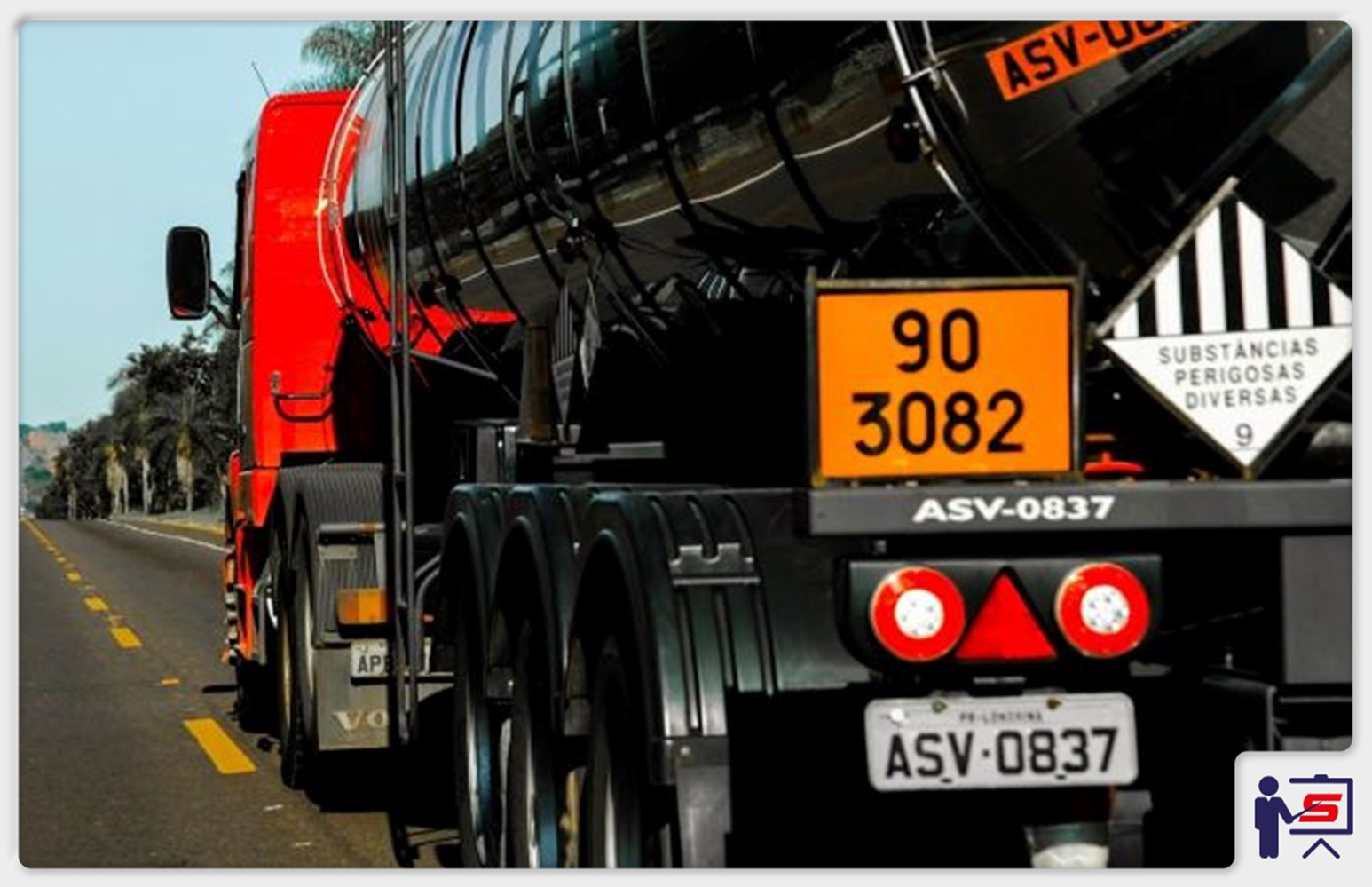 Legislação no Transporte de Produtos Químicos Perigosos