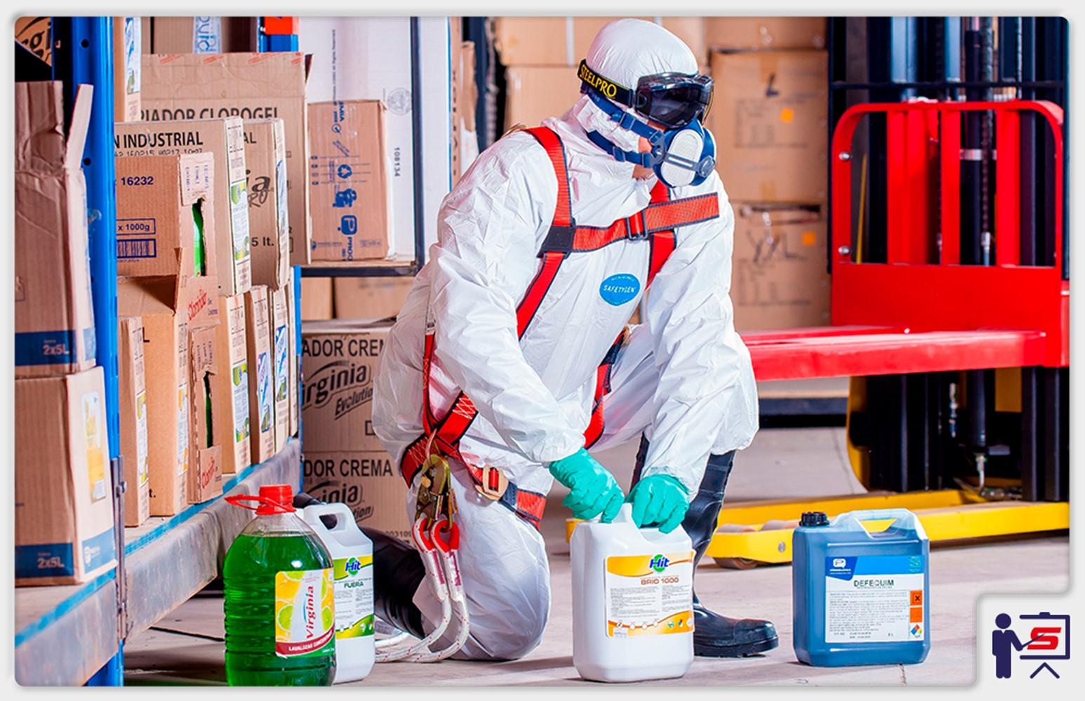 Manuseio e Armazenagem de Produtos Químicos Perigosos