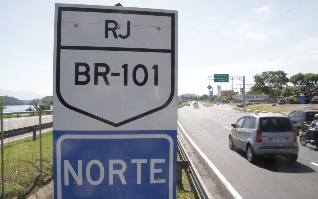 Pedágios da BR-101 no Rio de Janeiro são reajustados