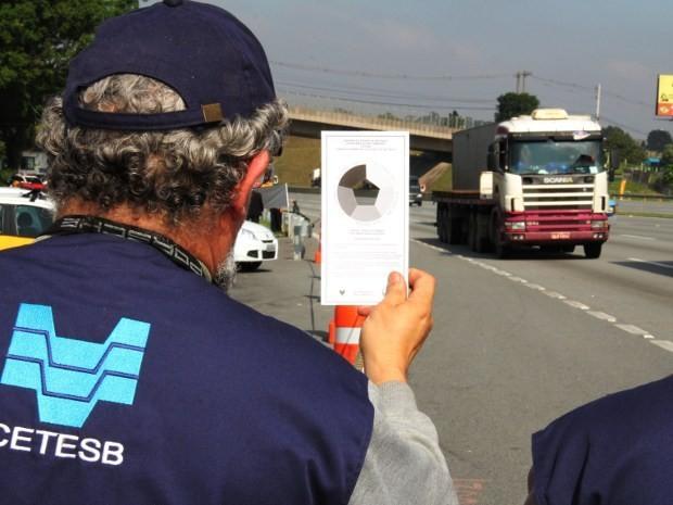 CETESB volta a fiscalizar emissão de fumaça