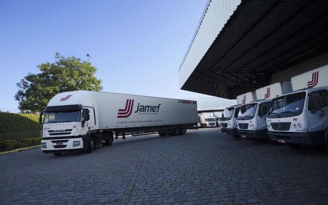Jamef realiza operações logísticas especiais para atender demandas em datas como esta