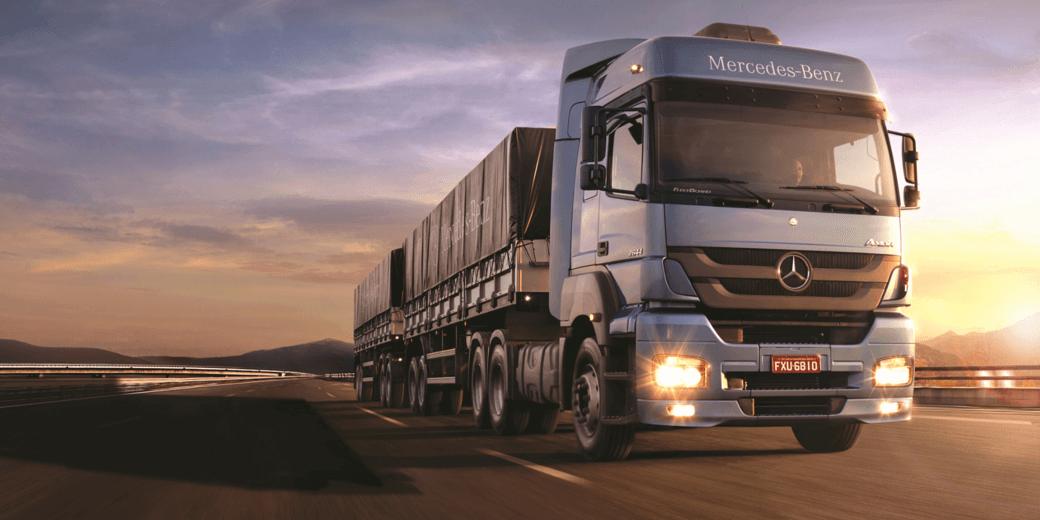 Vendas de caminhões avançam 41% até agosto