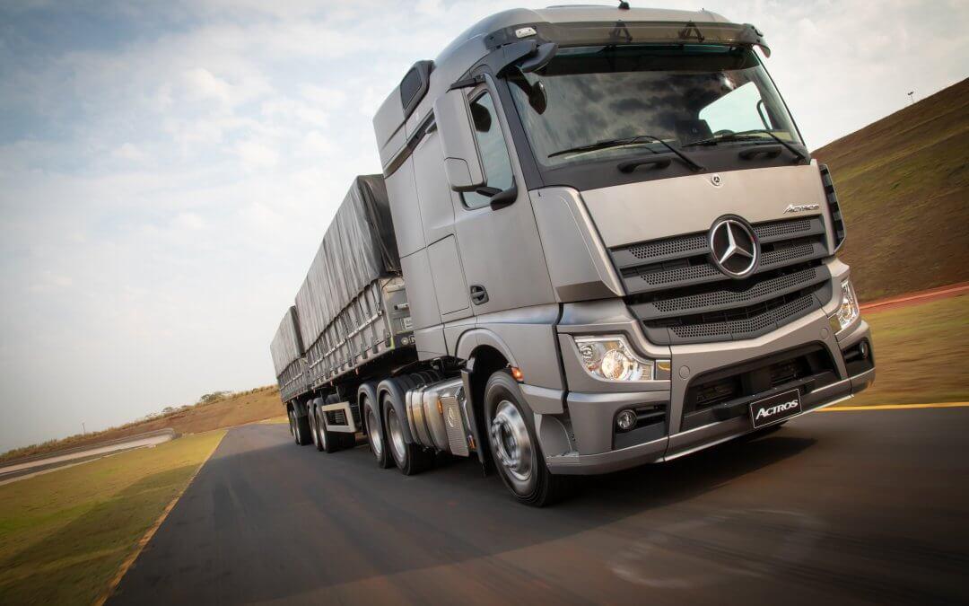 Mercedes-Benz introduz inovações que aumentam a robustez do Novo Actros