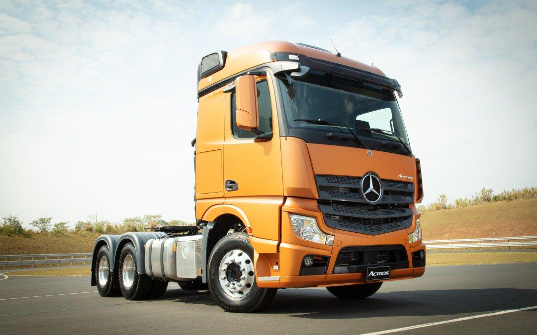 Actros leva Mercedes-Benz a um novo patamar de serviços e conectividade