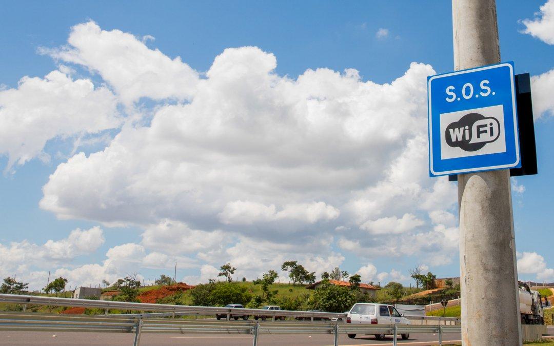 Estado de SP passa a ter quase mil quilômetros de rodovias com wi-fi