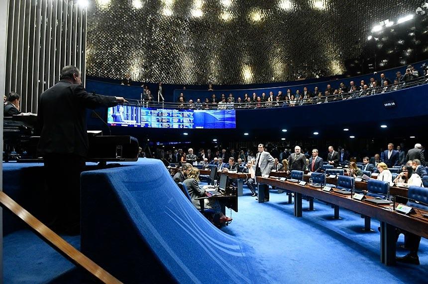 Senado aprova distribuição de recursos do leilão excedente do pré-sal