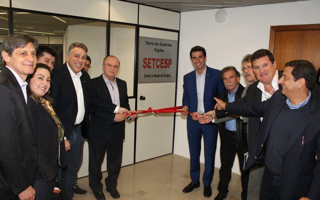 Torre de Controle – Vigília SETCESP: novo serviço contra roubo de cargas é apresentado durante a Plena
