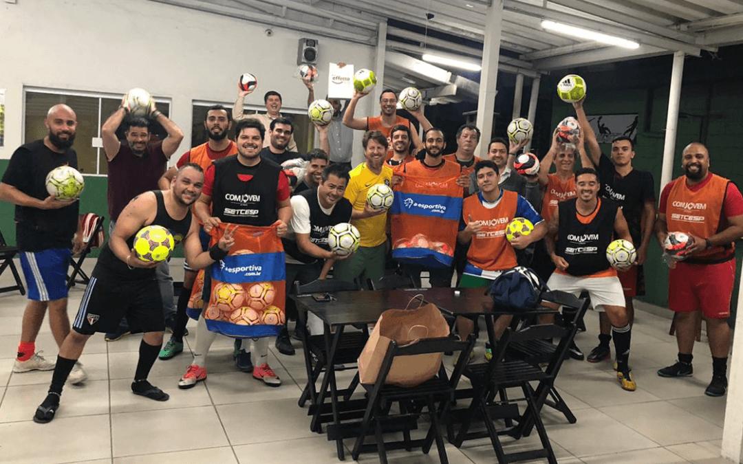 COMJOVEM entra em campo mais uma vez com a campanha Futebol Solidário