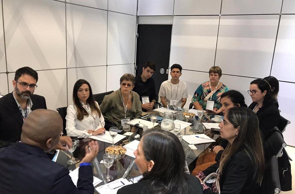 SETCESP participa do encontro de assessores de comunicação do TRC
