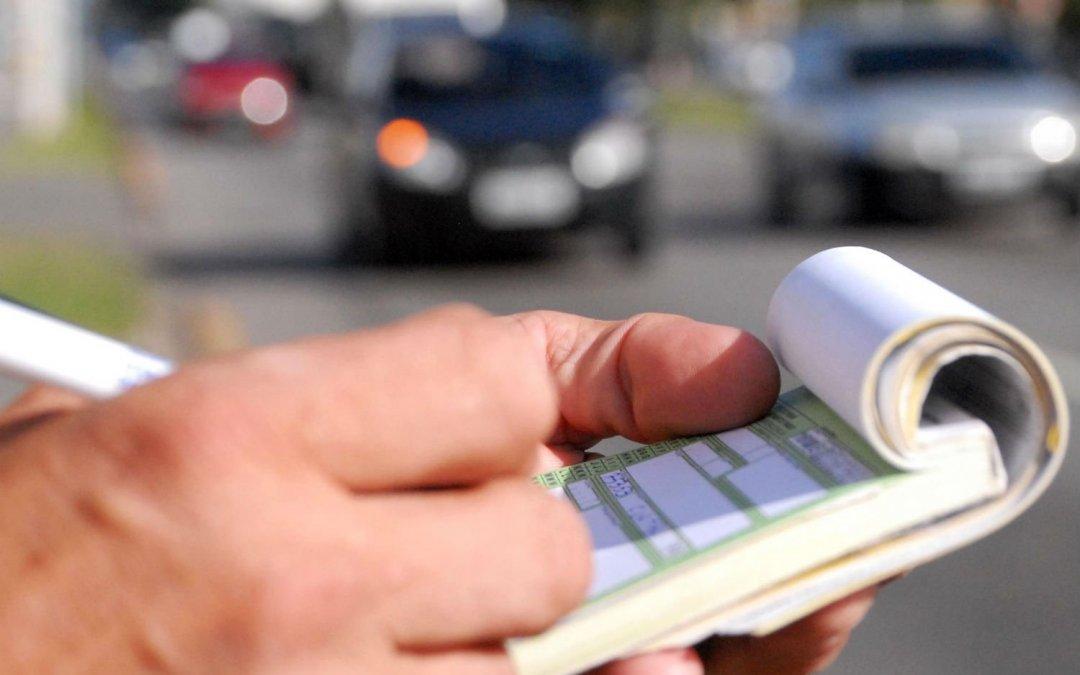 As multas de caminhões na cidade de São Paulo