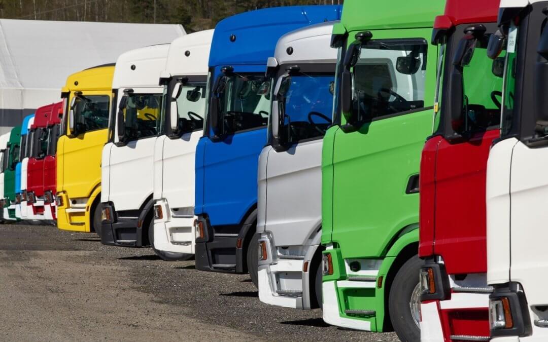 Vendas de caminhões crescem 38% no ano