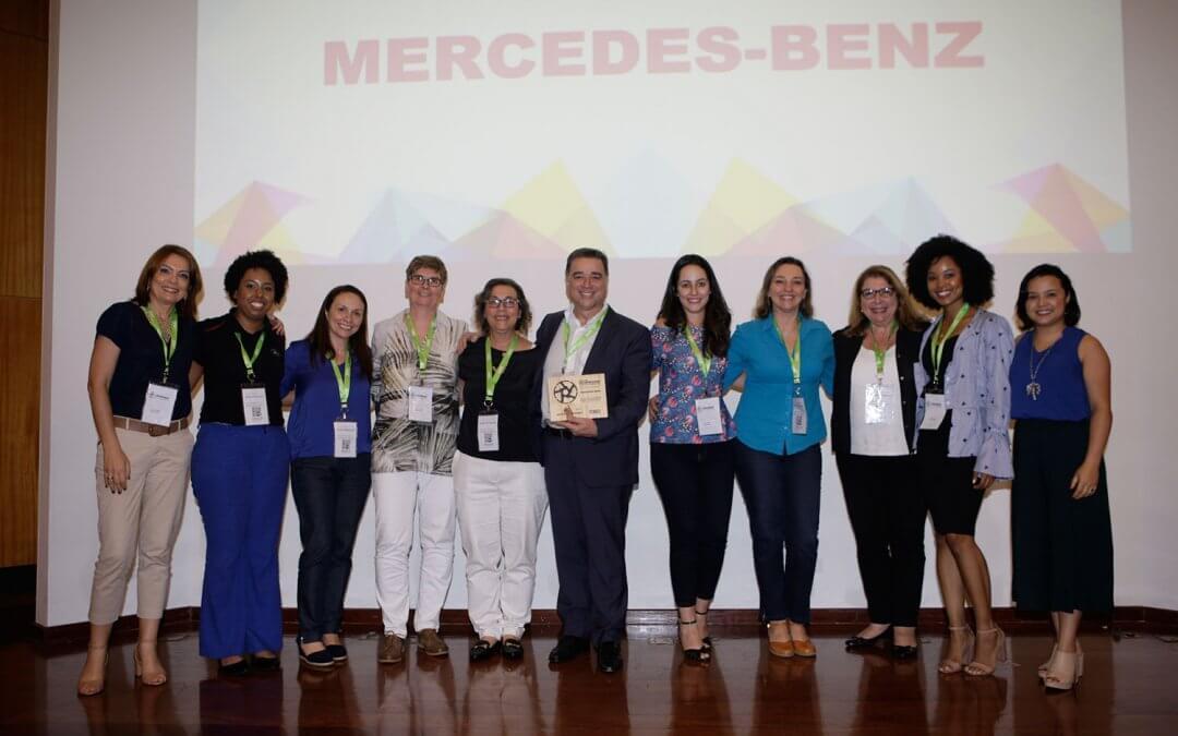Mercedes-Benz do Brasil é premiada por iniciativas de diversidade