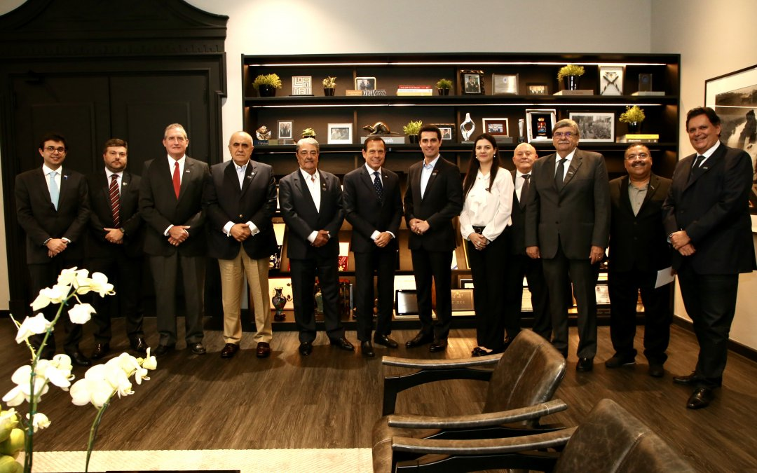 SETCESP se reúne com o Governador de São Paulo