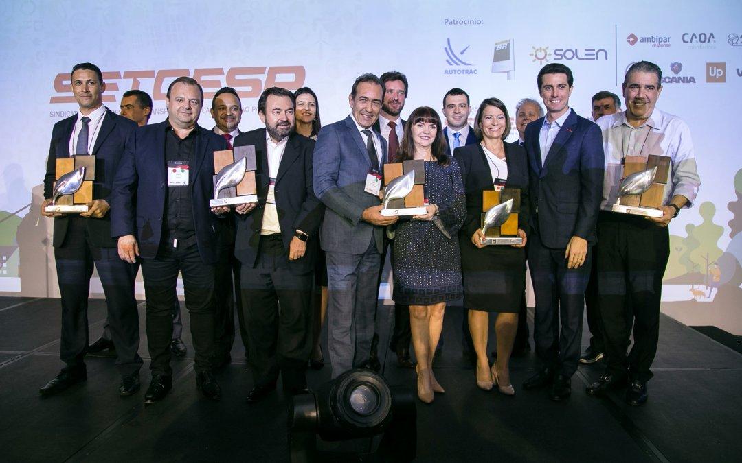 5º Prêmio de Sustentabilidade reconhece as melhores iniciativas praticadas  por transportadoras