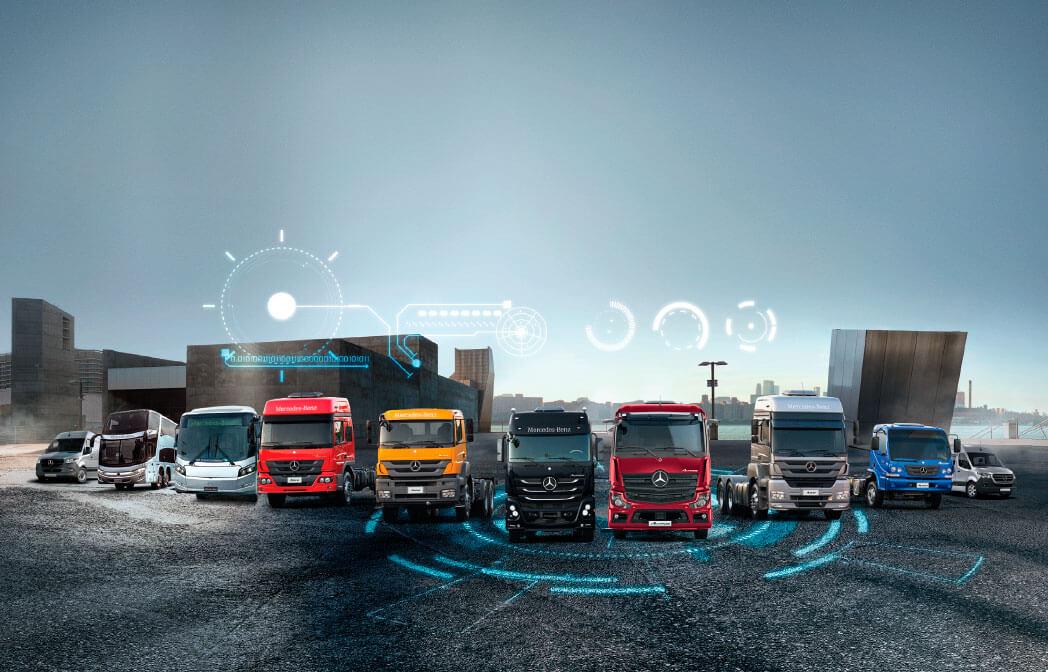 Mercedes-Benz lidera as vendas de veículos comerciais em 2019