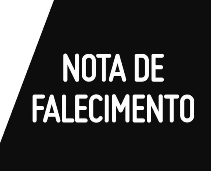Nota de falecimento – João Damas Soares