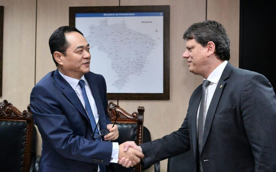 Brasil busca atrair empresas chinesas para leilões de infraestrutura
