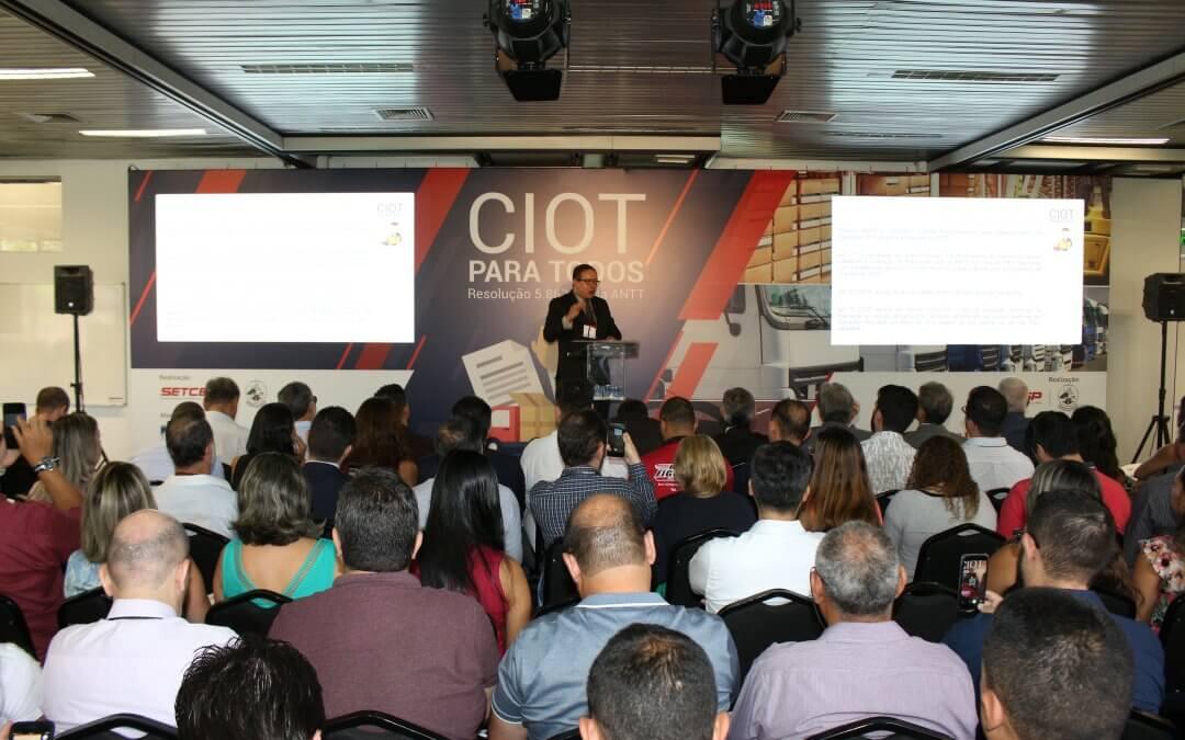"""Tenha em mãos a apresentação da palestra """"CIOT para todos"""""""