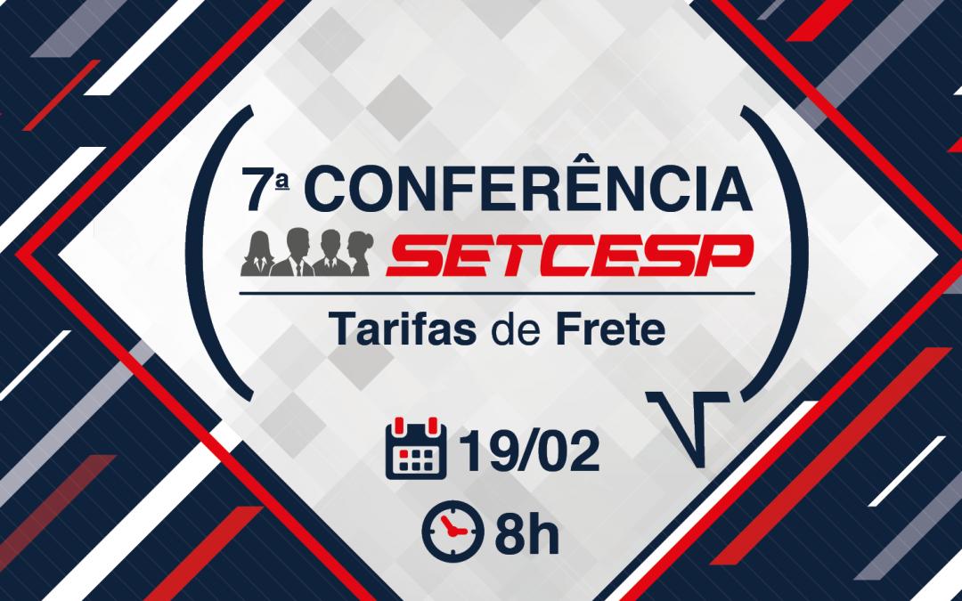 É AMANHÃ: 7ª Conferência SETCESP