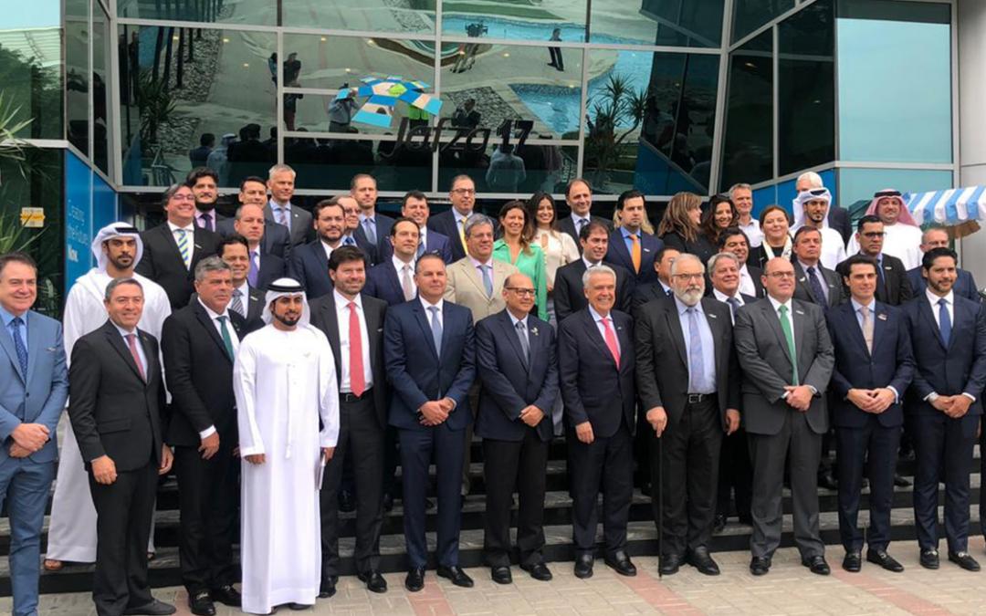 SETCESP na Missão Emirados Árabes
