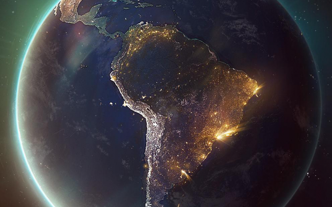 A dimensão do Brasil e a América Latina