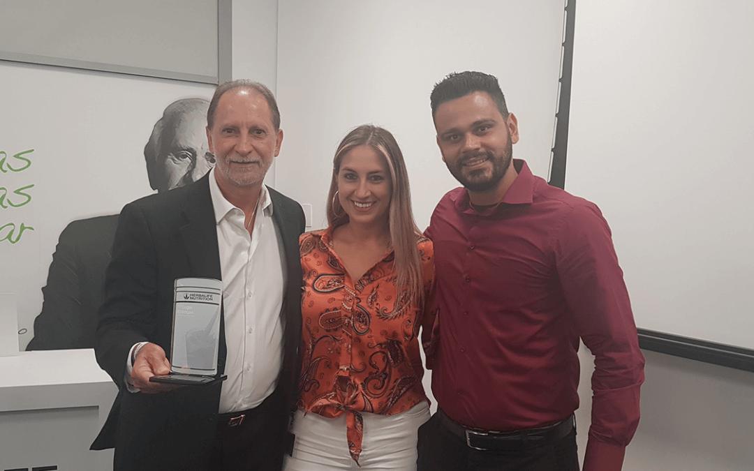 Argius recebe prêmio de excelência em transportes da Herbalife