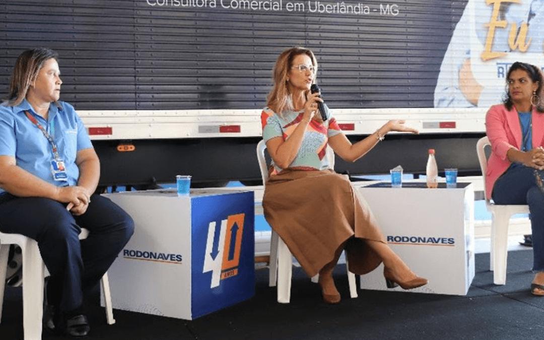 Grupo Rodonaves cria programa para incentivar o crescimento profissional e pessoal de mulheres dentro da empresa