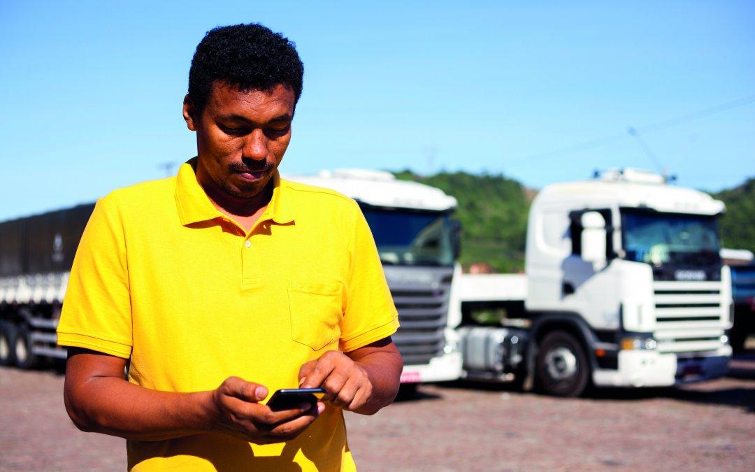 Aplicativo conecta diretamente cargas com caminhoneiros e já operou mais de 500 mil transações em um ano