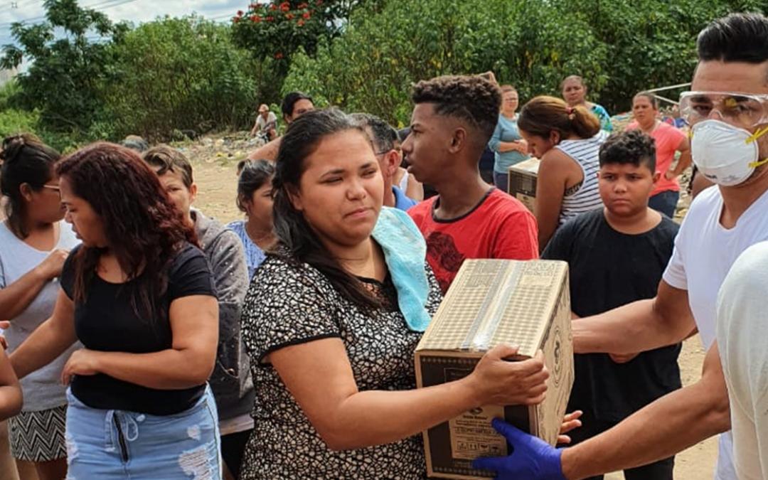 TRC Solidário: NASP Logística e Transporte em prol das famílias