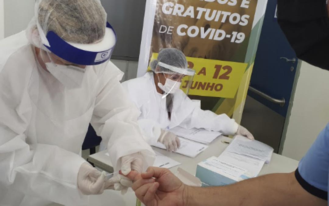 SEST SENAT realiza mais 10 mil testes rápidos da covid-19 em trabalhadores do transporte