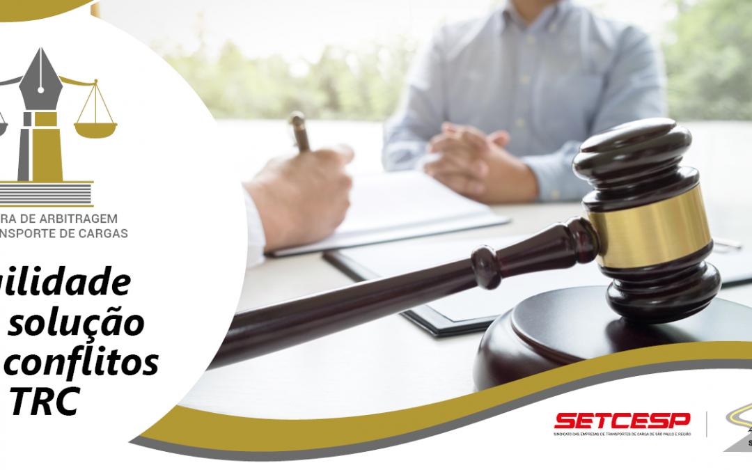 SETCESP e SINDICAM-SP criam a Câmara de Arbitragem do Transporte de Cargas