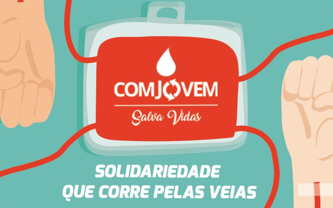Campanha de Doação de Sangue: COMJOVEM Salva Vidas