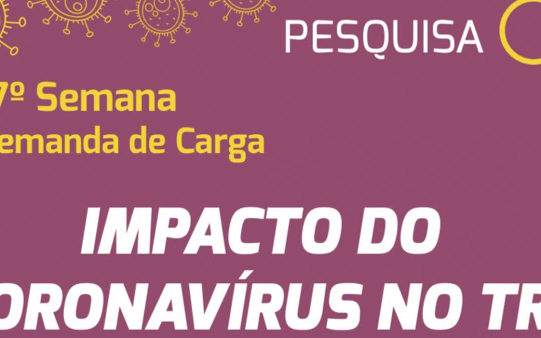 Participe da 17ª semana da pesquisa Impacto do Coronavírus no TRC