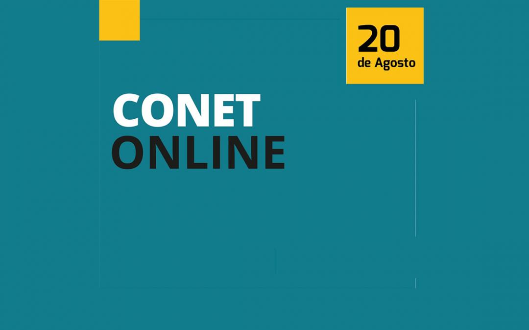 Último dia para se inscrever no CONET Online