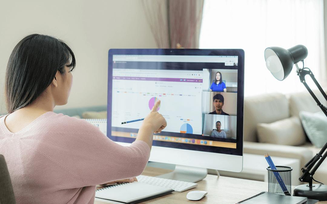 Como destacar sua presença em uma reunião virtual