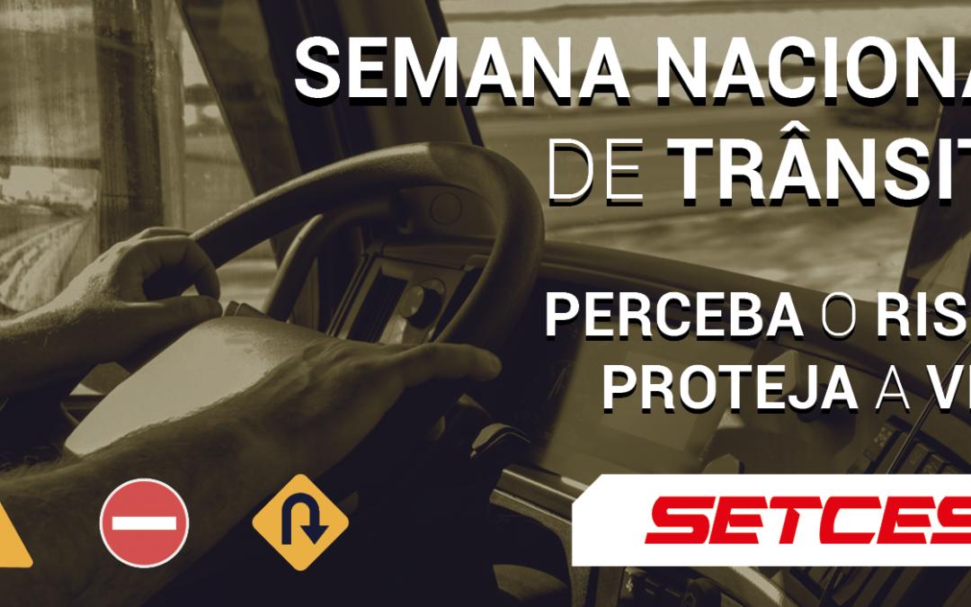 SETCESP celebra Semana Nacional de Trânsito 2020