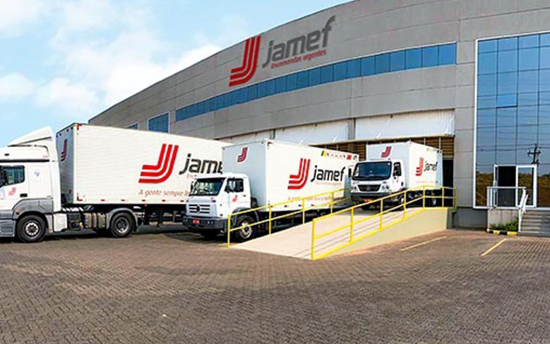 Jamef inaugura uma nova filial em Bauru, SP