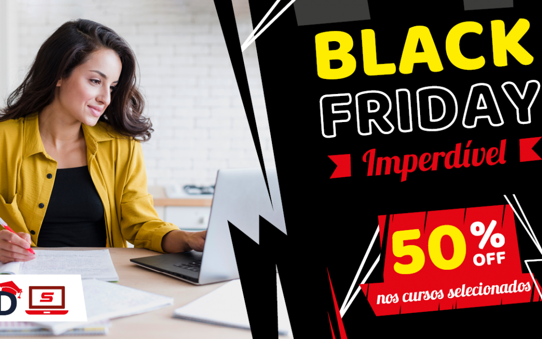 Black Friday SETCESP: todos os cursos EAD pela metade do preço