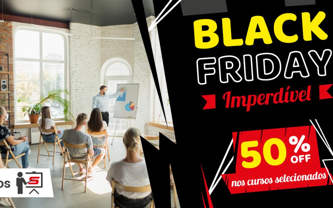 SETCESP oferece 50% de desconto nos cursos livres selecionados em sua Black Friday