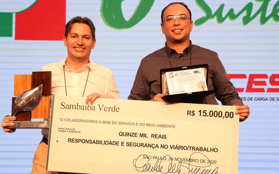 """Jamef vence 6º Prêmio de Sustentabilidade com projeto """"Segurança Embarcada"""""""