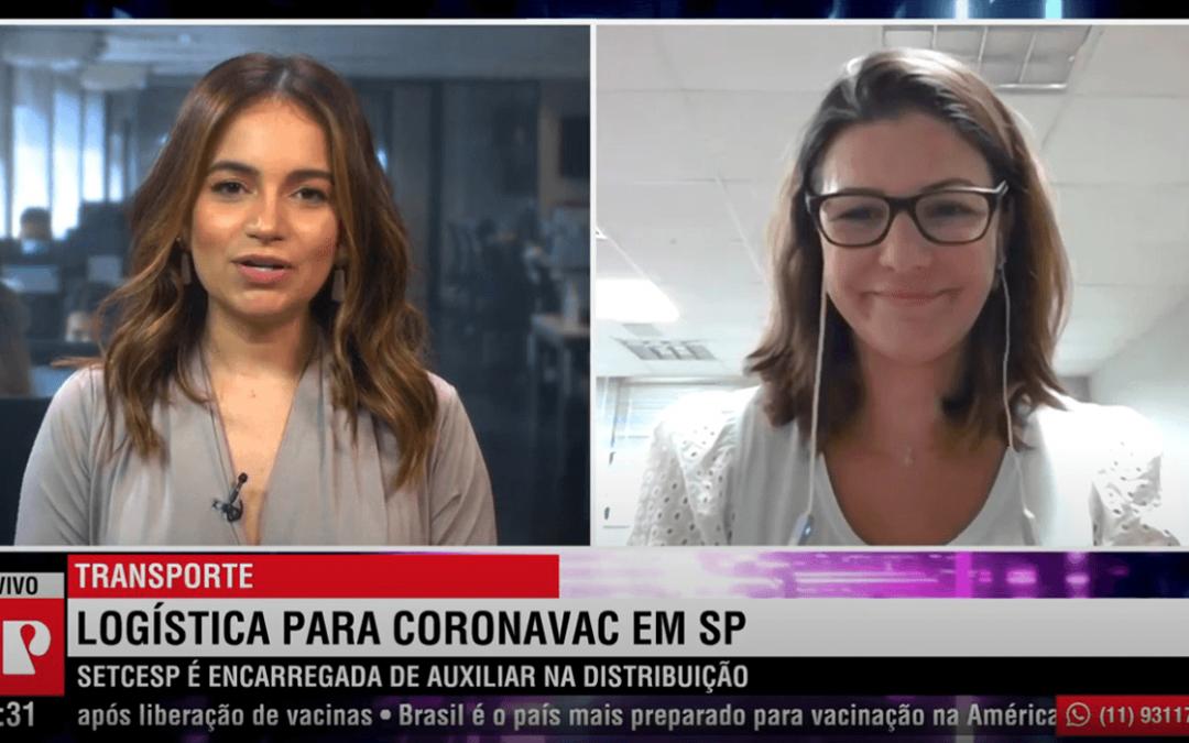 SETCESP concede entrevista ao Jornal da Manhã da Jovem Pan