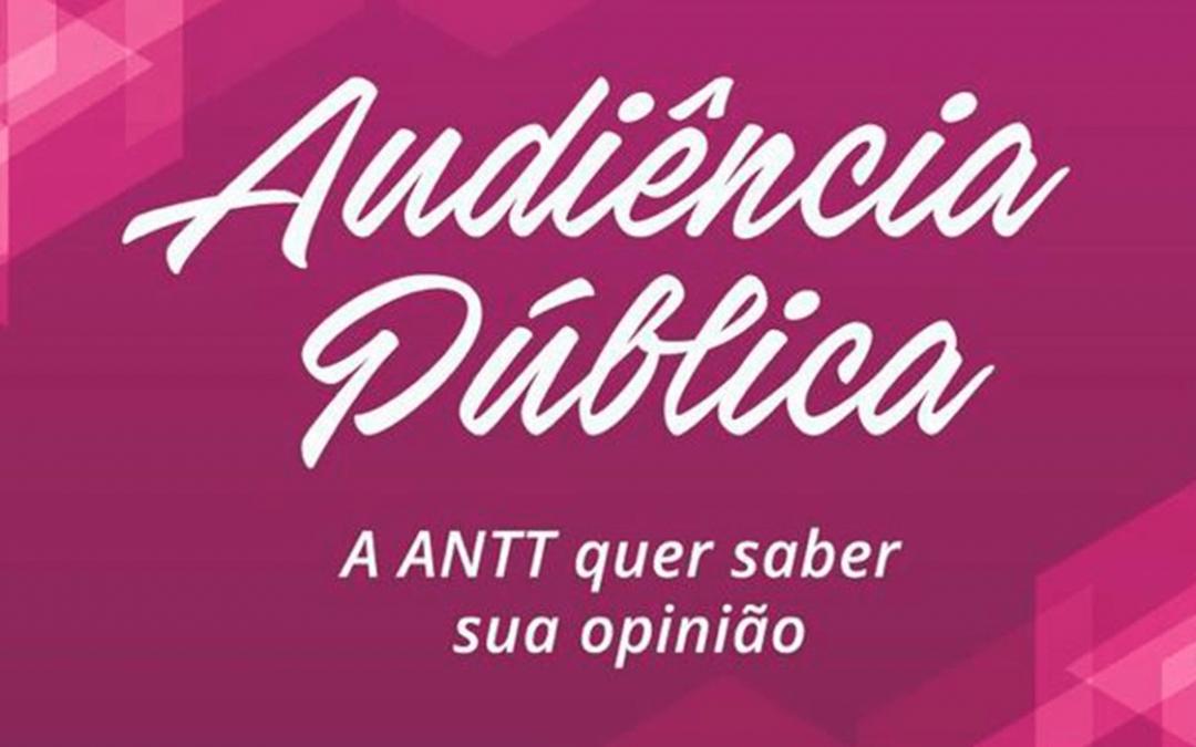 ANTT altera data da sessão virtual da AP sobre RNTRC